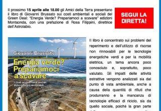 Presentazione del libro: Energia Verde? Prepariamoci a scavare