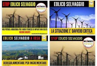 Sdoppiamento di personalità nelle politiche sull'eolico